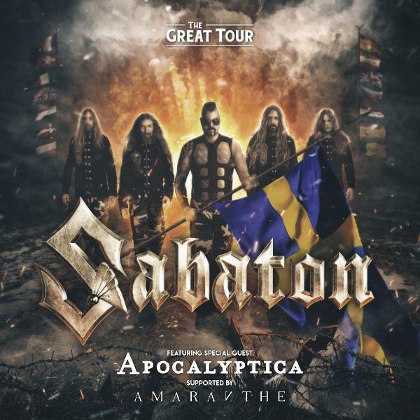 Sabaton | O2 arena Praha 26.1.2020