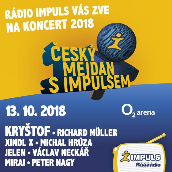 Český mejdan s Impulsem  - Prague 13.10.2018