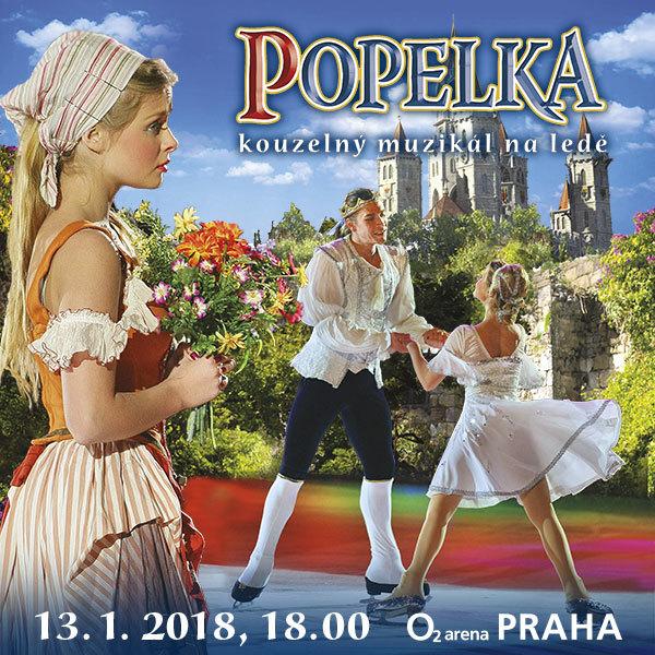 Cinderella - Magical musical on ice | O2 Arena Prague 13.1.2018
