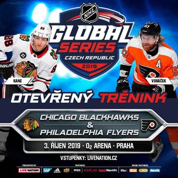 OPEN PRACTICE (team training)2019 NHL GLOBAL SERIES - Praha O2 Arena - 3.10.2019