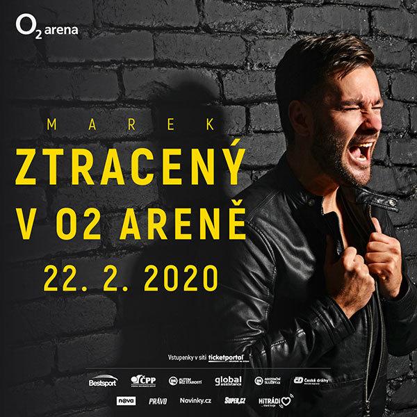 Marek Ztracený | O2 arena Praha 22.2.2020