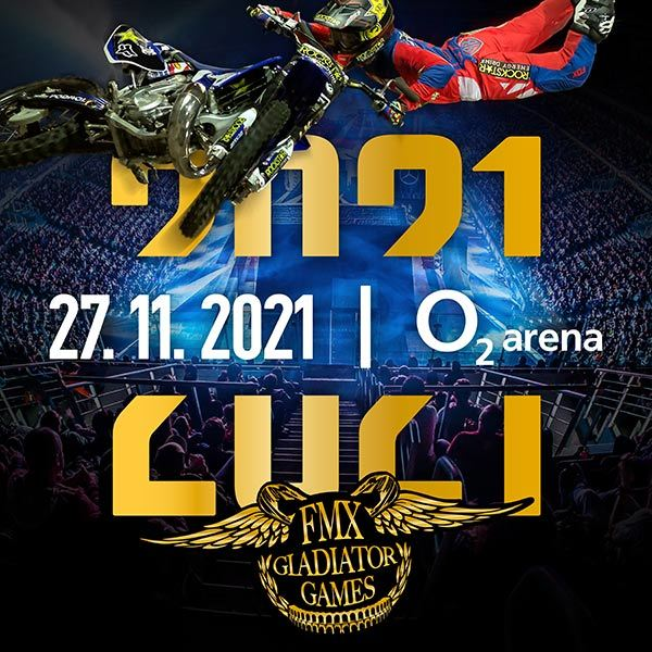 FMX Gladiator Games | O2 arena Prague 27.11.2021
