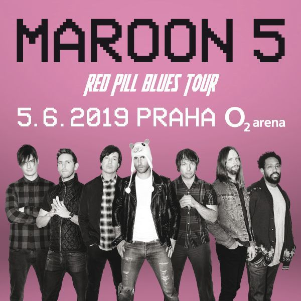 Maroon 5| O2 Arena Praha 5.6.2019