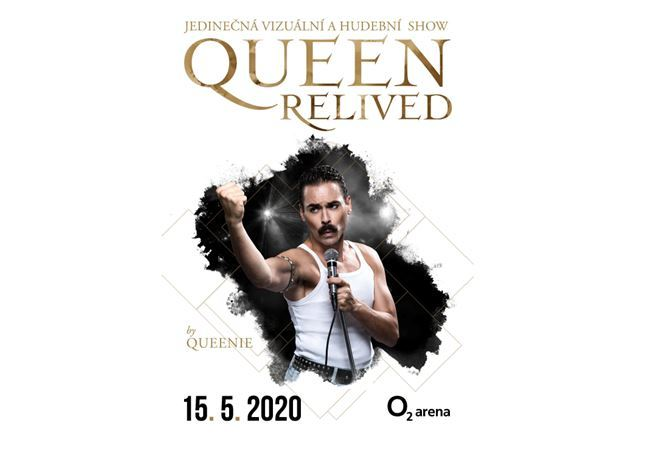 Queen Relived| O2 arena Prague 3.9,4.9.5.9 2021