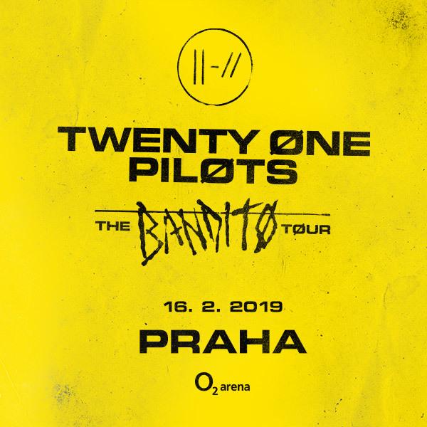 Twenty one Pilots | O2 Arena Praha  16.2.2019