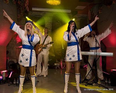 The show a Tribute Abba