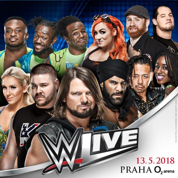 WWE Live Superstars | Prag O2 Arena - 13.5.2018
