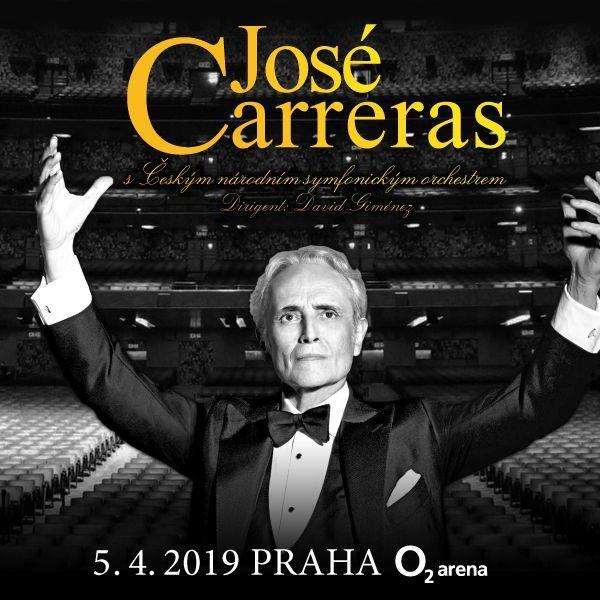 José Carreras| O2 Arena Prague 5.4.2019