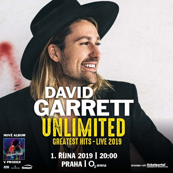 David Garrett | O2 Arena Praha 1.10.2019