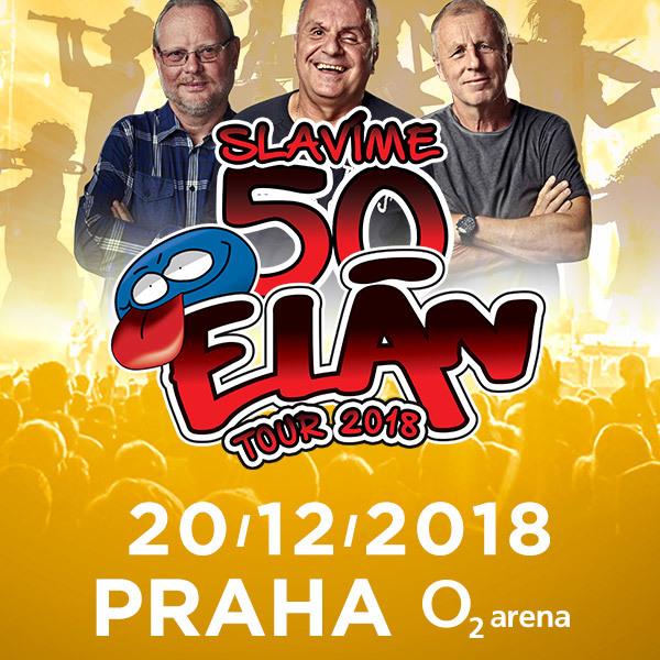 Elan koncert | O2 Arena Praha 20.12.2018