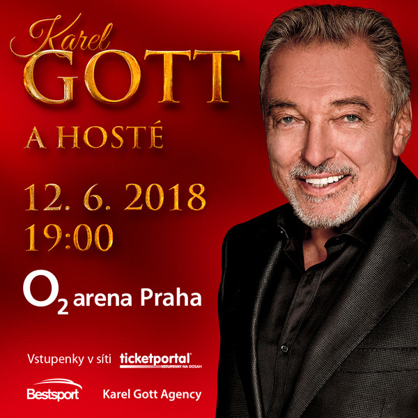 Karel Gott & guests Prague O2 Arena - 12.6.2018