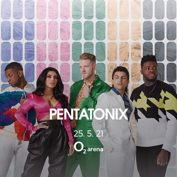 Pentatonix: The World Tour | Praha O2 arena - 25.5.2021