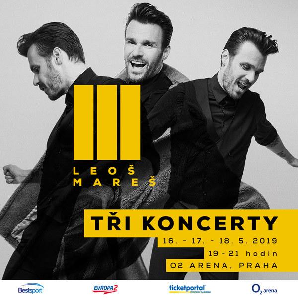 Leoš Mareš -  O2 Arena 16.- 18.5.2019