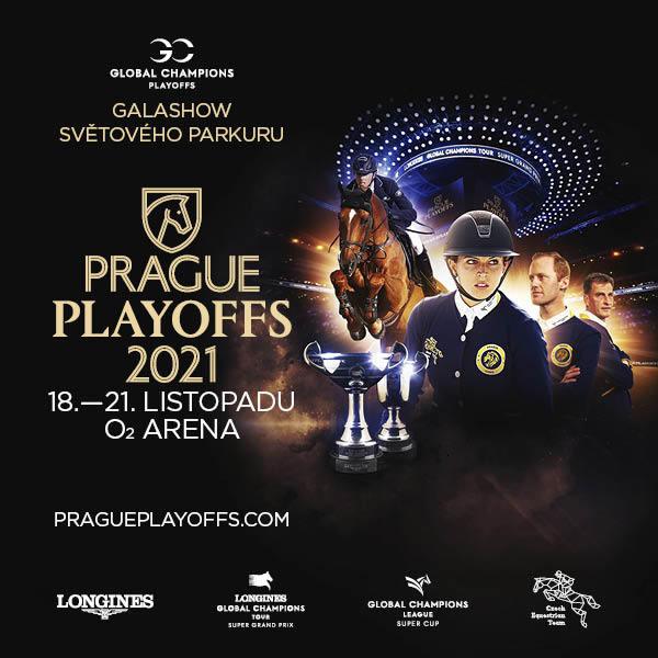 Global Champions Prague Playoffs   O2 arena Prague 18.- 21.11.2021