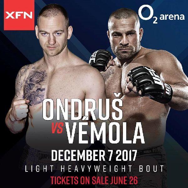 XFN Ondrus vs Vemola | O2 Arena Prague 7.12.2017