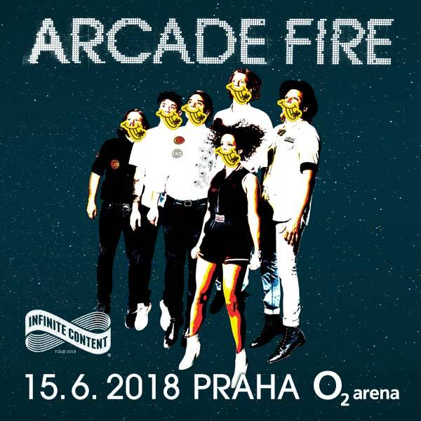 Arcade Fire | Prague O2 Arena - 15.6.2018