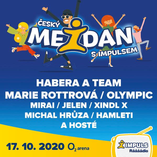 Český mejdan s Impulsem  | O2 arena Praha 17.10.2020