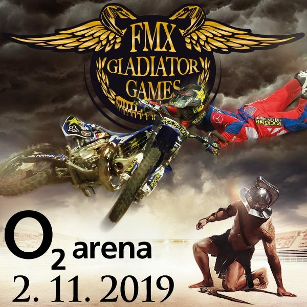 FMX Gladiator Games | O2 arena Prague 2.11.2019