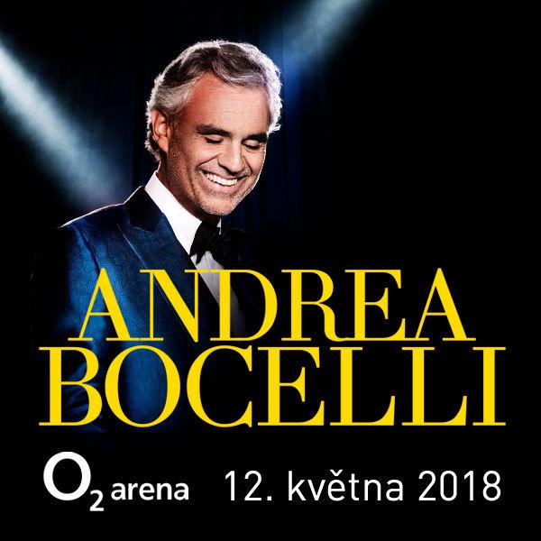 Andrea Bocelli - Prague - 12.5.2018