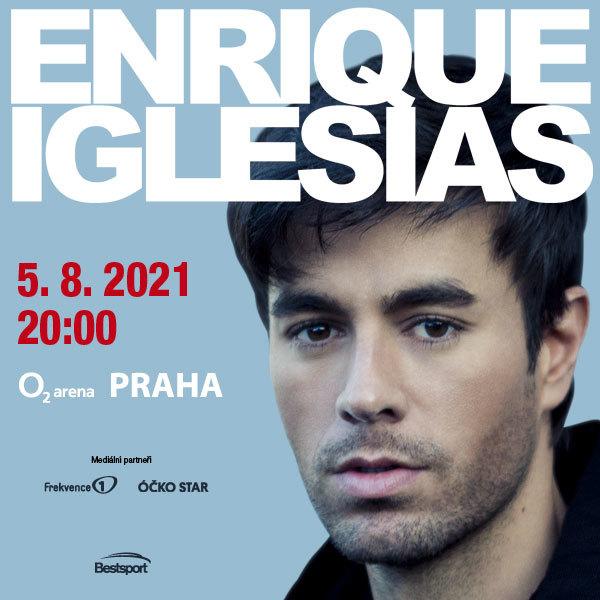 Enrique Iglesias Praha | O2 arena Praha 5.8.2021