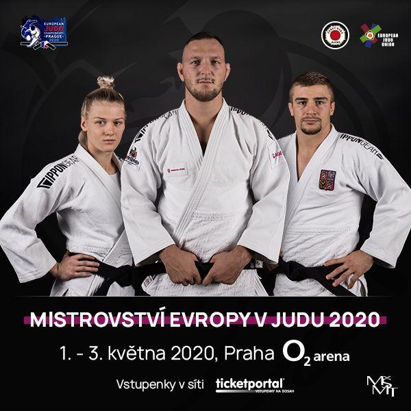 Mistrovství Evropy v Judu | O2 arena Praha  8.- 10.11.2020