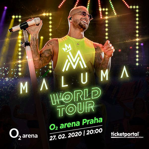 Maluma |  O2 arena Prague 27.2.2020