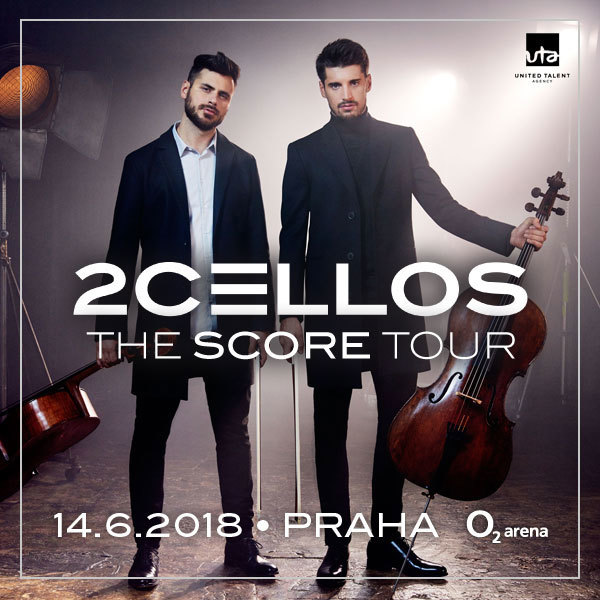 2CELLOS The score tour | O2 Arena Prag 14.6.2018
