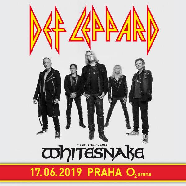 Def Leppard & Whitesnake| O2 Arena Praha 17.6.2019