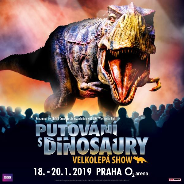 Walking with dinosaurs | O2 Arena Prague - 18.- 20.1.2019