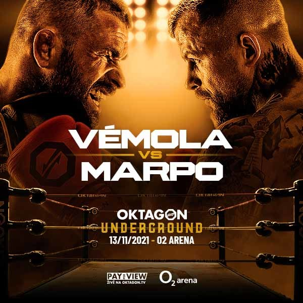 Oktagon Vémola vs Marpo | Prague O2 arena - 26.2.2022
