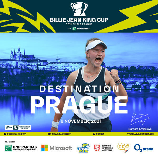Billie Jean King Cup by BNP Paribas   O2 arena Prague 1. - 6. 11. 2021