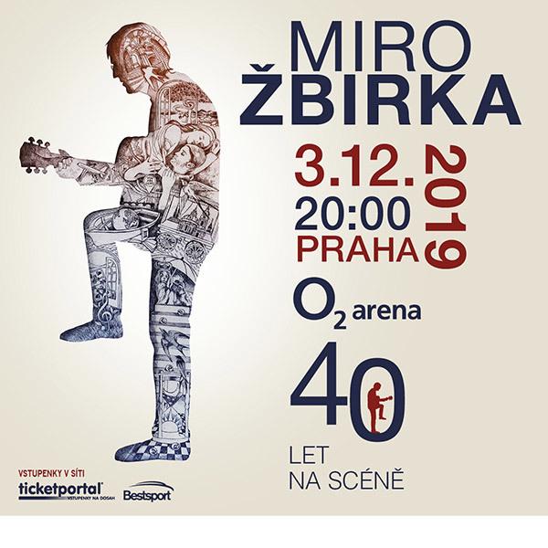 Miro Žbirka | O2 arena Prague 3.12.2019