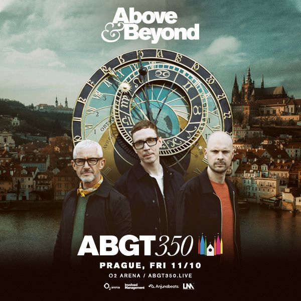 Above & Beyond: Group Therapy 350 |O2 arena Praha 11.10.2019