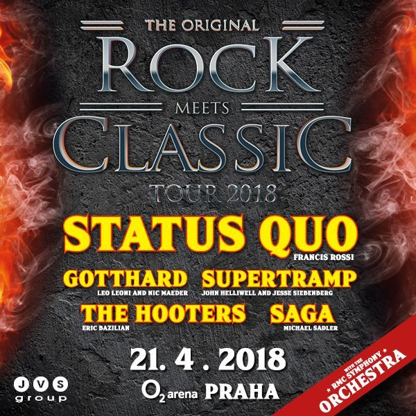 ROCK MEETS CLASSIC | O2 Arena Prague 21.4.2018