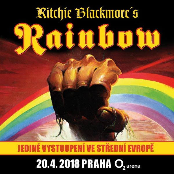 Ritchie Blackmore's RAINBOW | O2 Arena Prague 20.04.2018