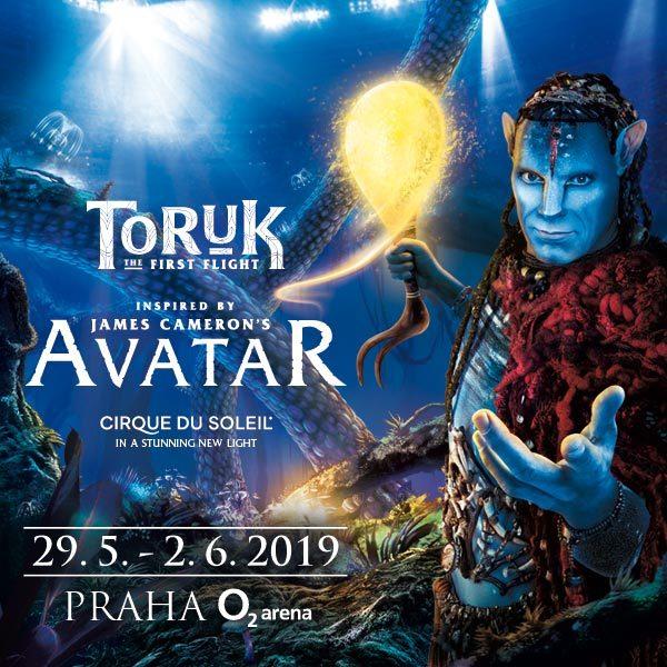 Cirque du Soleil - TORUK - O2 Arena Praha - 29.5.- 2.6.2019