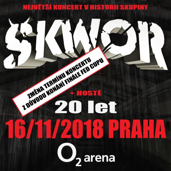 ŠKWOR Praha O2 Arena 16.11.2018